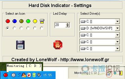 硬盘指示灯_软件下载_软件区
