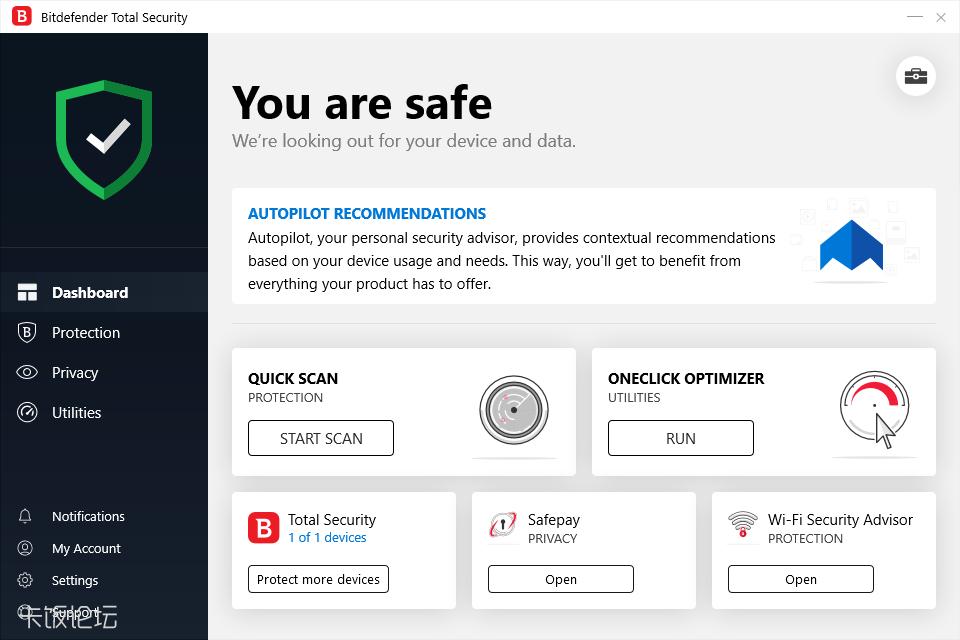The reviews of anti-virus1——bitdefende