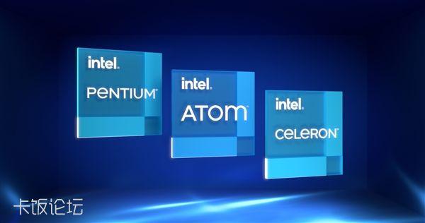 Intel 11代奔腾、赛扬移动处理器发布:睿频、AVX指令集都有了 - Intel Core 英特尔酷.jpg