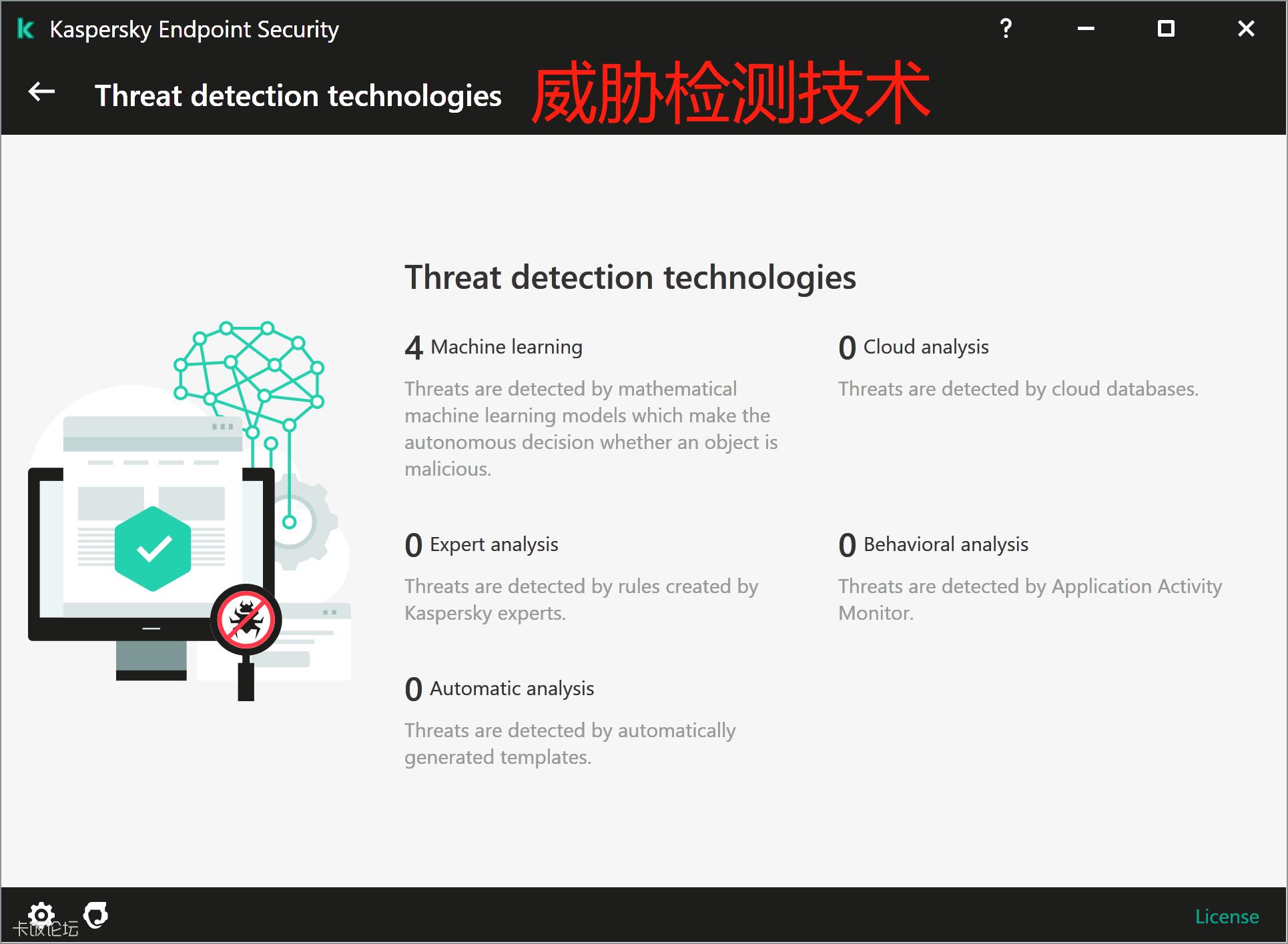 Threat Detection Technology 界面