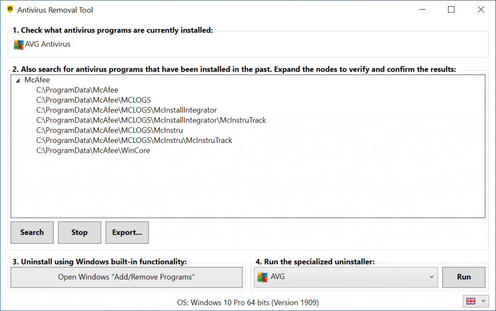 防毒软件完全卸载器Antivirus Removal Tool